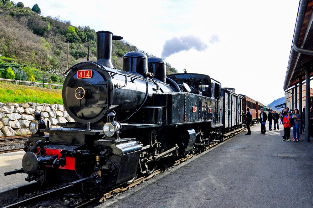 ©ARG le train de l'Ardèche