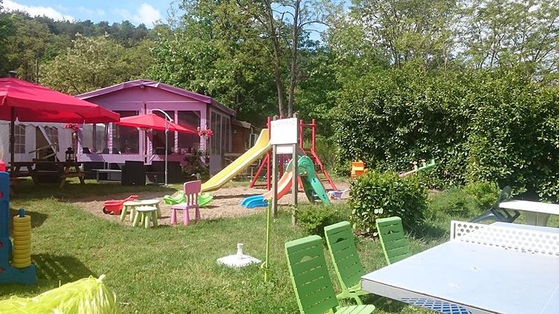 Aire de jeux camping de la Vallée du Doux