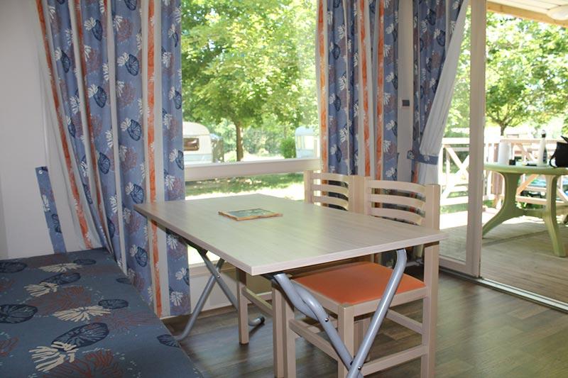 Mobil Home IRM camping de la Vallée du Doux