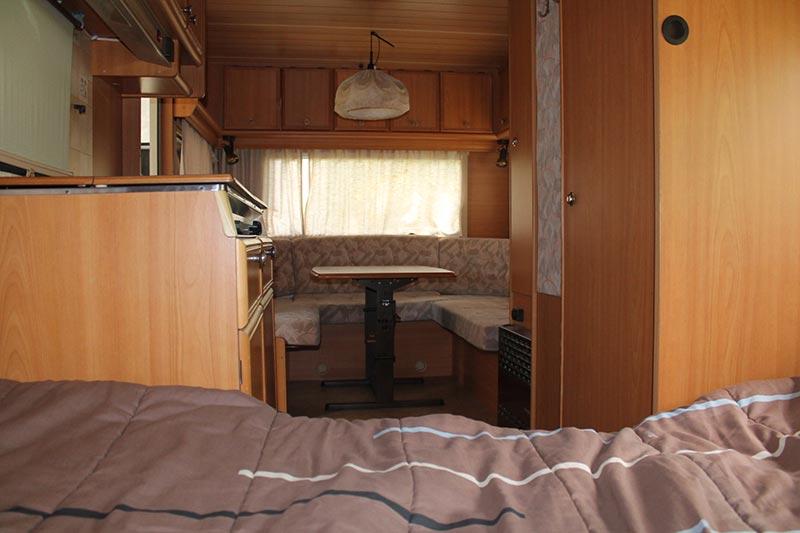 petite caravane camping de la Vallée du Doux