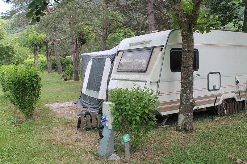 petite-caravane camping de la Vallée du Doux