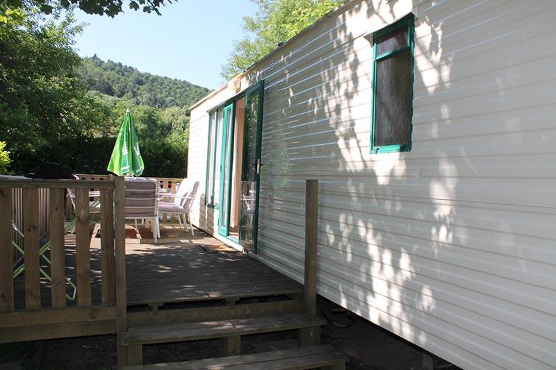 Mobil home camping de la Vallée du Doux